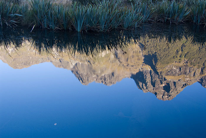 Mirror Lake near Milford Sound