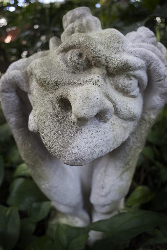 Gargoyle at Phipps Conservatory