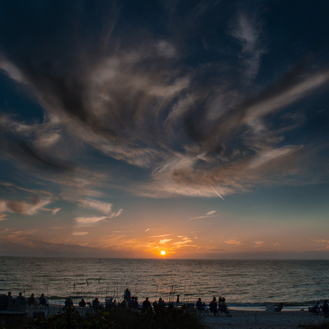 #clouds, #sunset, #Florida, #nikon, #D800, #singhray, #painterly