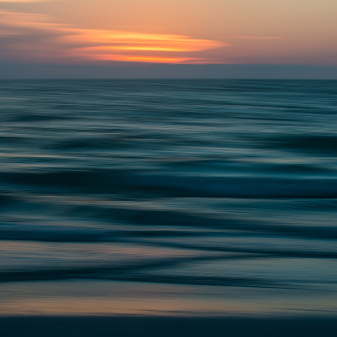 #sunset, #lines, #colors, #blue, #orange, #ICM