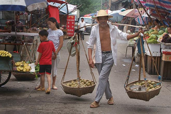 #yichang, #market, #timeless, #china, #travel