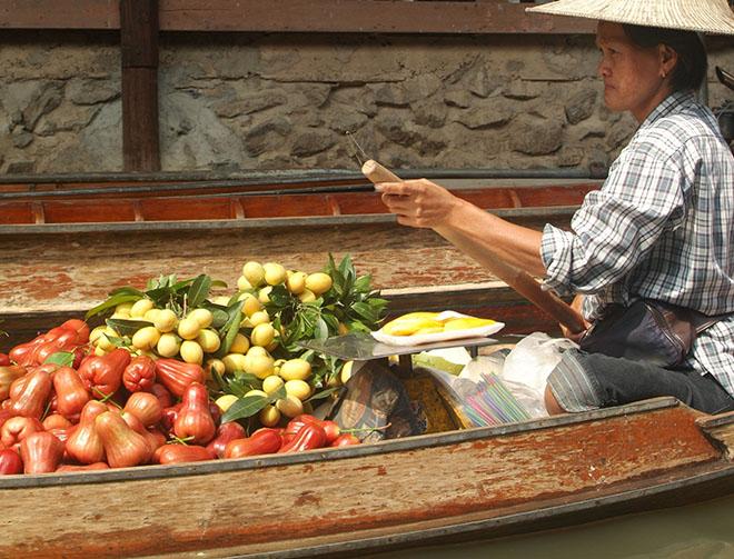 #floatingmarket, #bangkok, #thailand, #thai, #vegetables, #market
