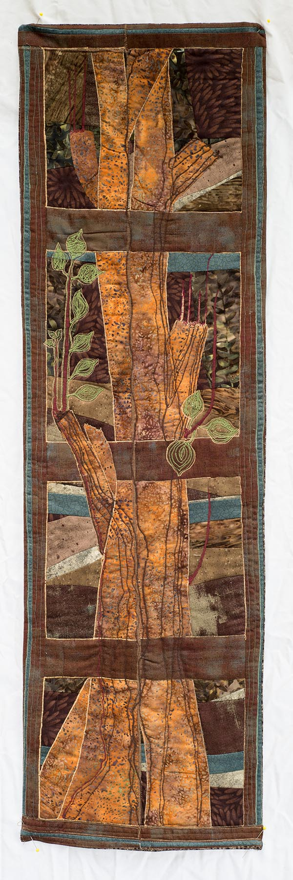 #sylvialeo, #pittsburgh, #pittsburghartist, #quilt, #tree