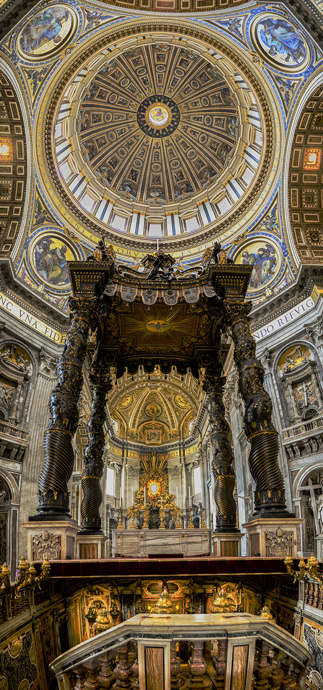 #howto, #panorama, #stpeters, #dome, #interior, #Nikond800