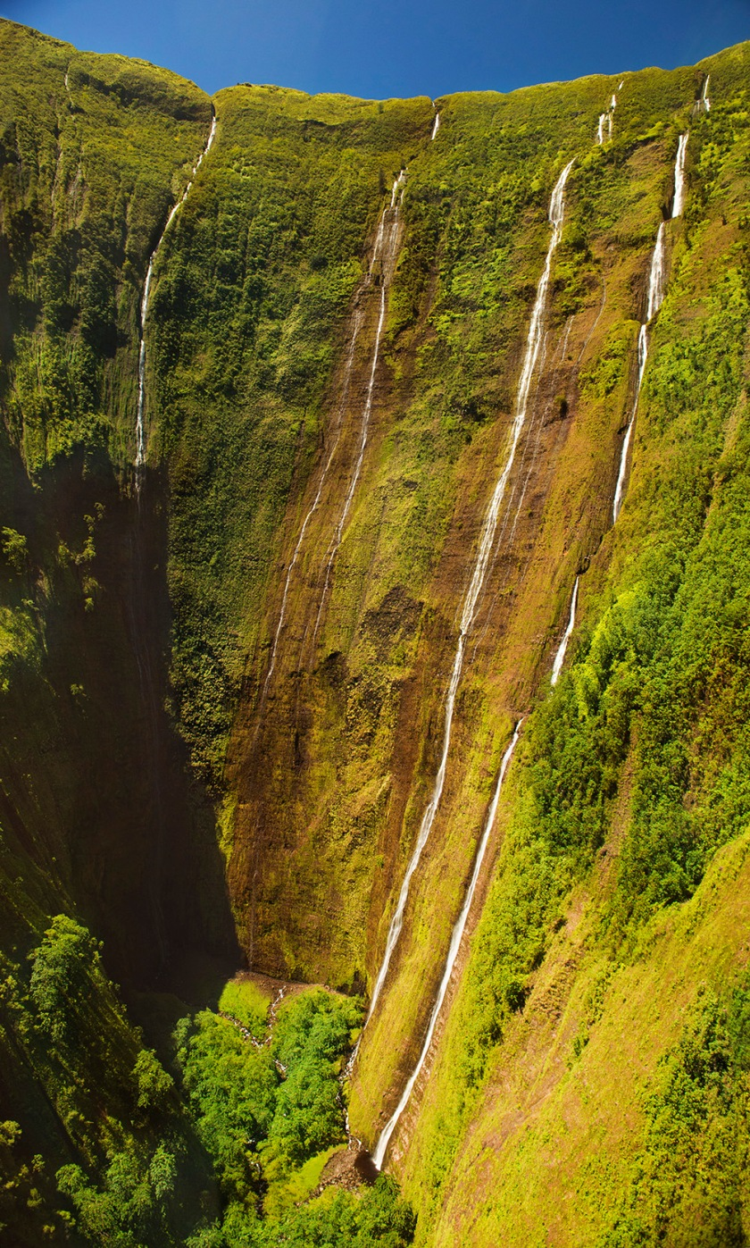 #waterfall, #hawaii, #bluehawaiian, #photomerge, #nature, #rainyside, #wetside, #nikonD800