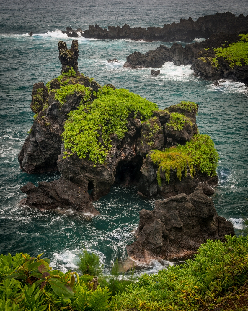 #lava, #island, #maui, #waterscape, #tropical, #erosion
