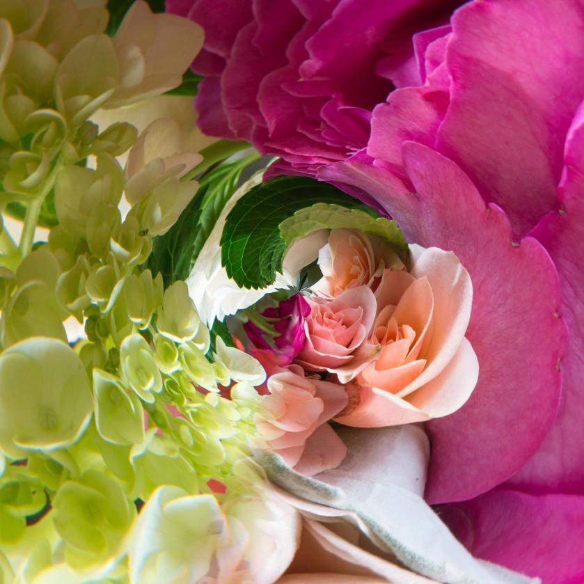 #pink, #flowers, #nature, #scarf, #VIDA, #@shopVIDA, #twirl, #spiral, #design