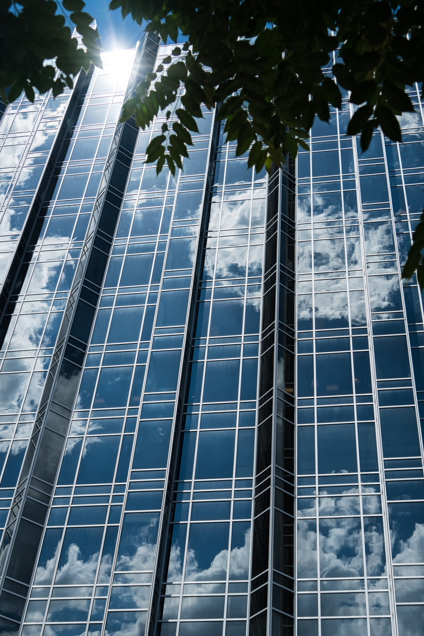 #PPG #Pittsburgh, #reflection, #sky #clouds, #perfect, #tourist