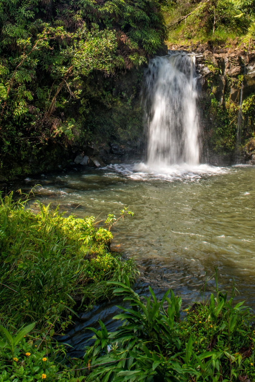 #waterfall, #waterfallwednesday, #maui, #iceland, #tropical, #hot, #volcanic