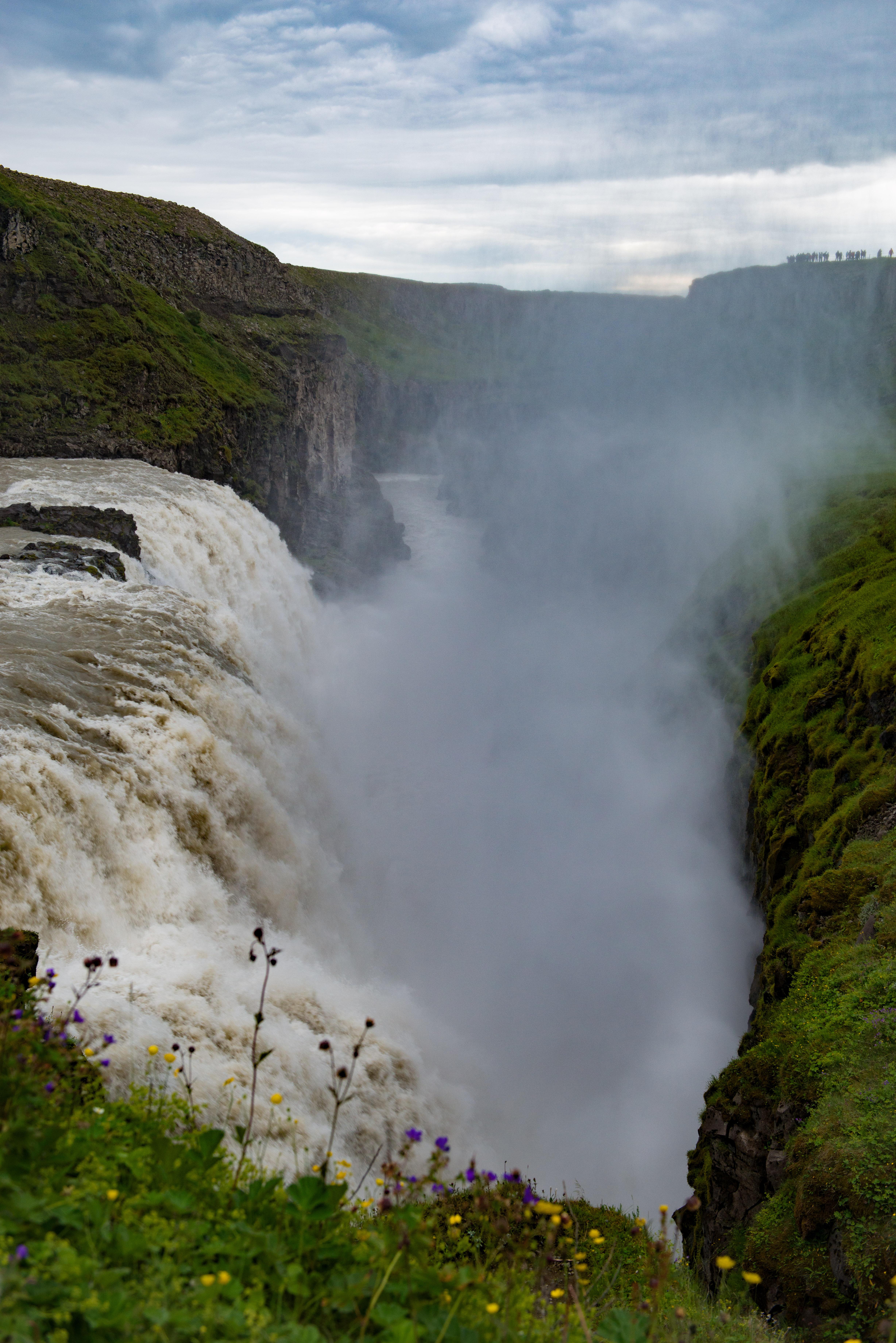 #gullfoss, #powerful, #nature, #iceland, #waterfall, #safety