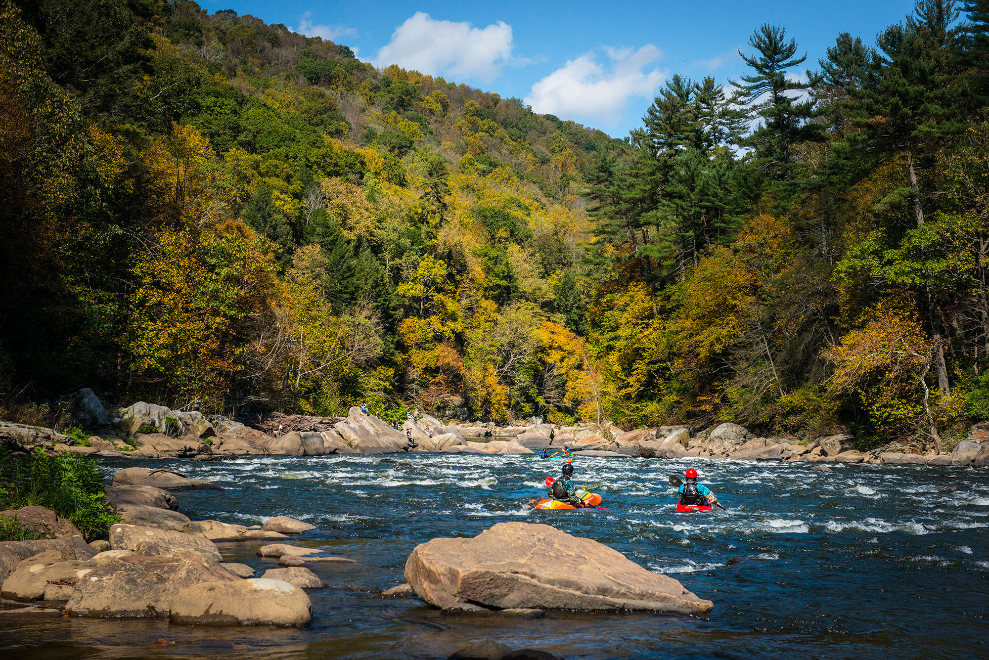 #kayak, #foliage, #youghiogheny, #laurelhighlands, #ohiopyle, #recreation, #october, #pittsburgh, #pennsylvania