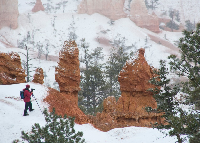 #snow, #photography, #workshop, #lookout, #cliff