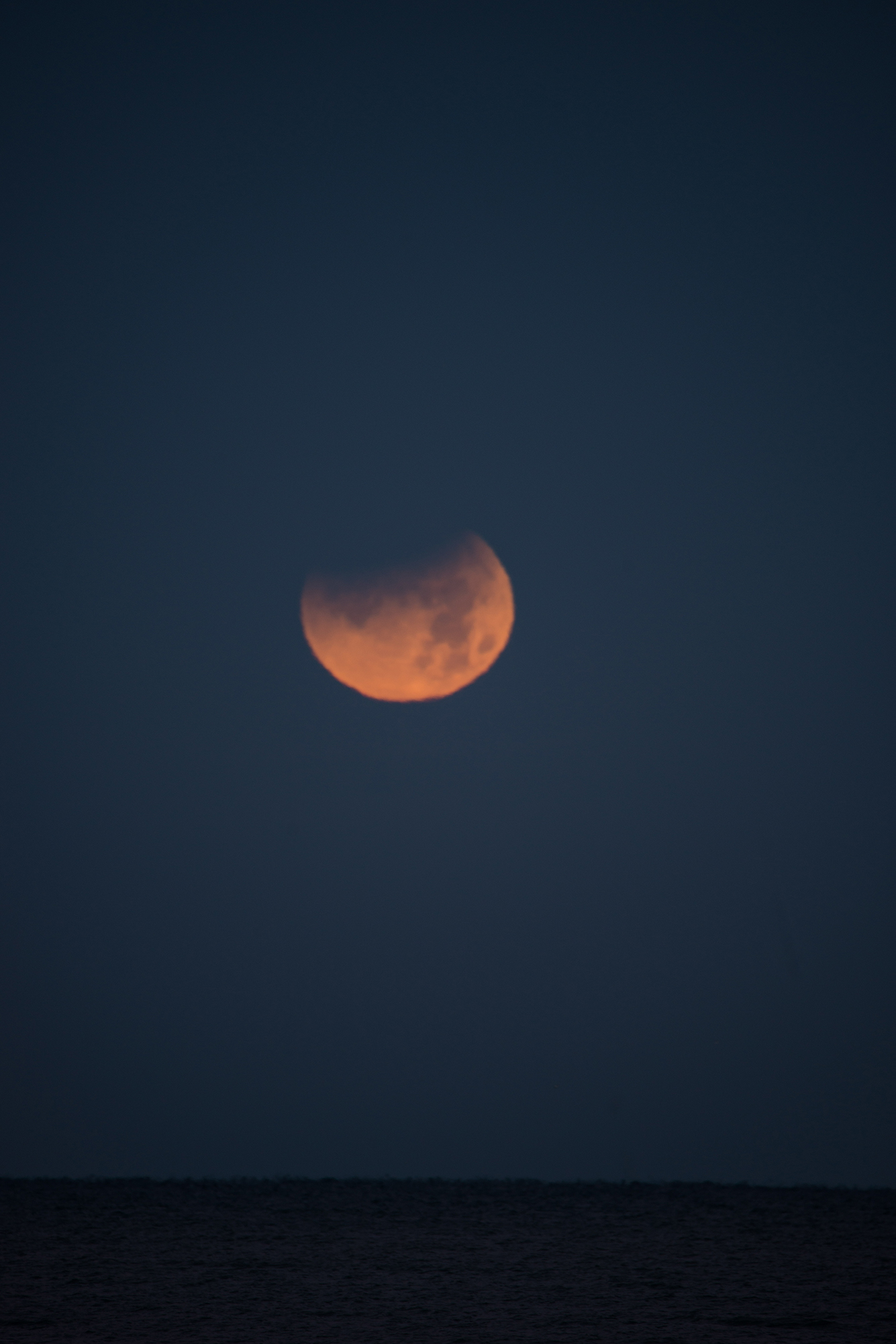 #moon, #eclipse, #moonset, #bluemoon, #supermoon, #lunareclipse, #naples, #photography, #astrophotography, #tamron, #nikon