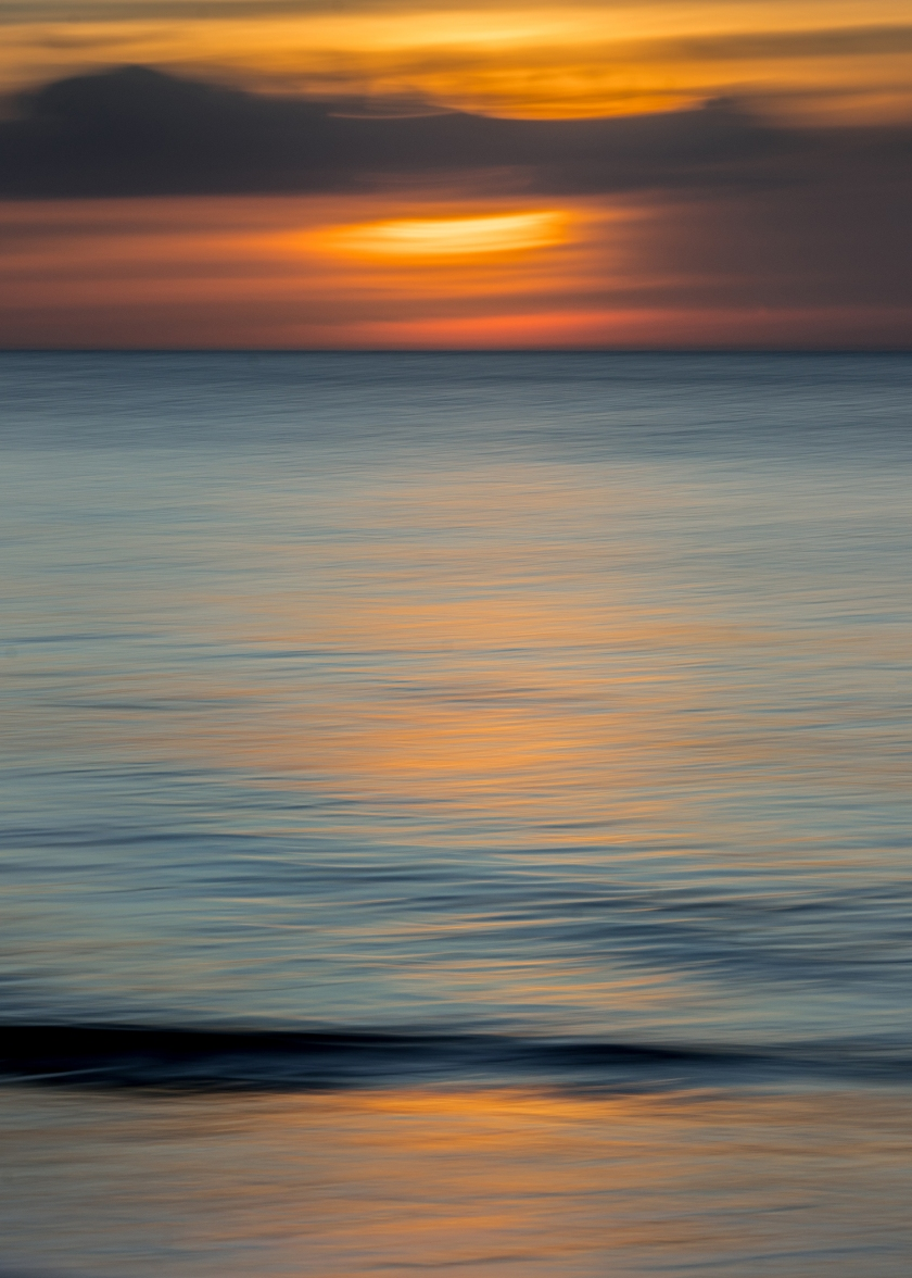 #sunset, #orange, #orangeandblue, #gulfofmexico, #gulf, #florida, #gulfcoast, #ICM, #sony, #abstract, #warmandcool