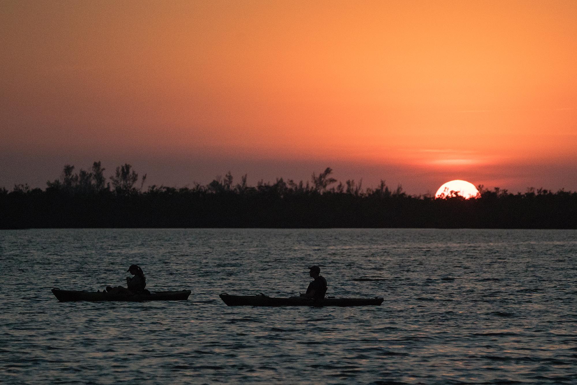 #orange, #sunset, #rookerybay, #florida, #swflorida, #kayak, #dayisdone, #nature, #landscape, #humanelement