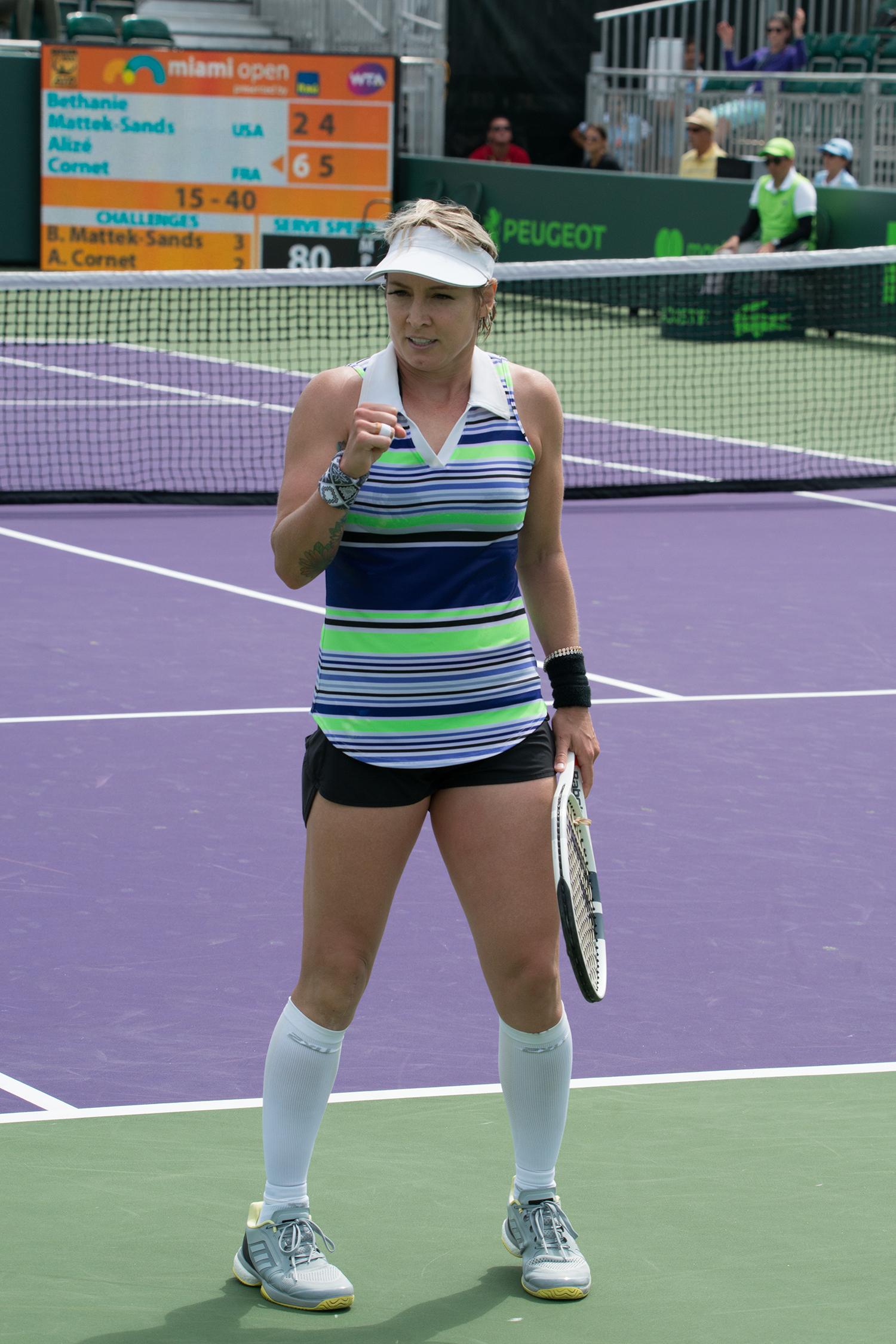 #matteksands,#behtanie, #american, #tennis, #miamiopen, #miami, #womenstennis, #goldmedalist, #comeback, #fivealll