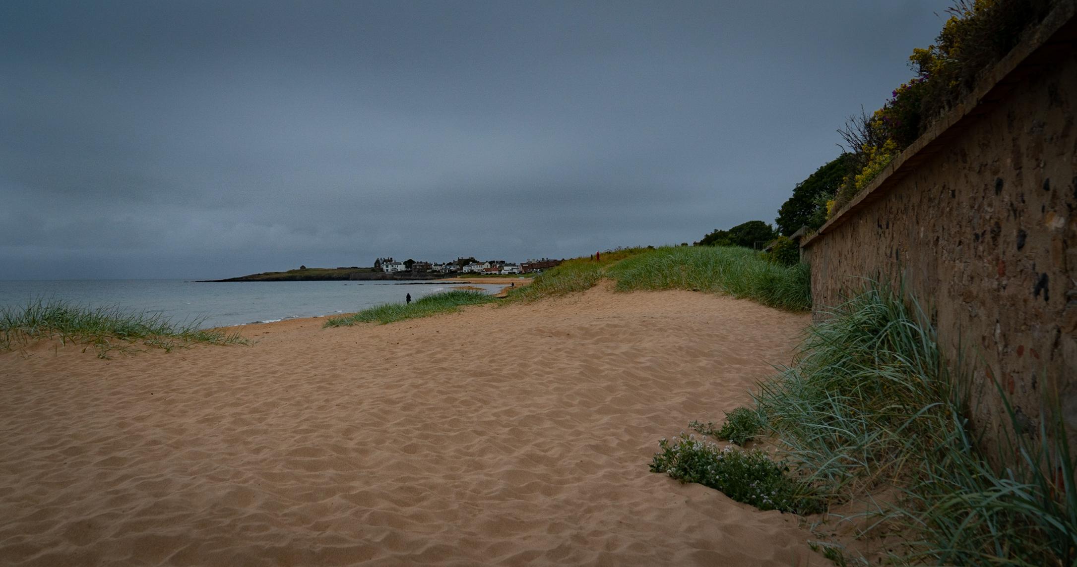 #beach, #scotland, #elie, #coast, #eastcoast, #clouds, #countryside, #tranquil, #northsea