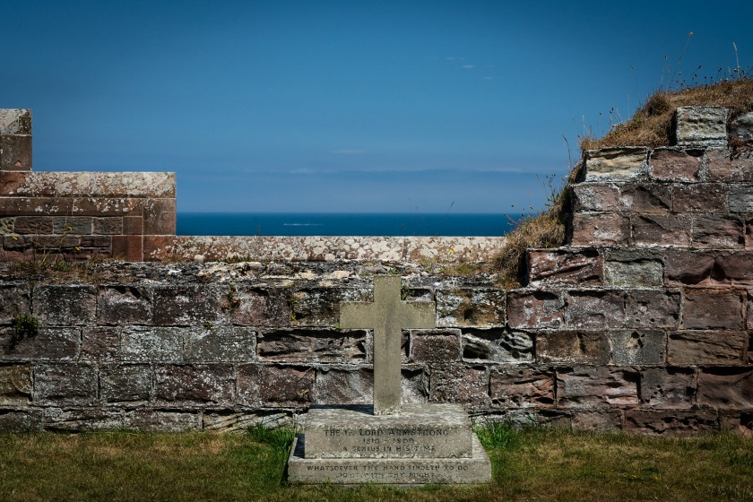 #bamburgh, #castle, #lordarmstrong, #grave, #northsea, #coast