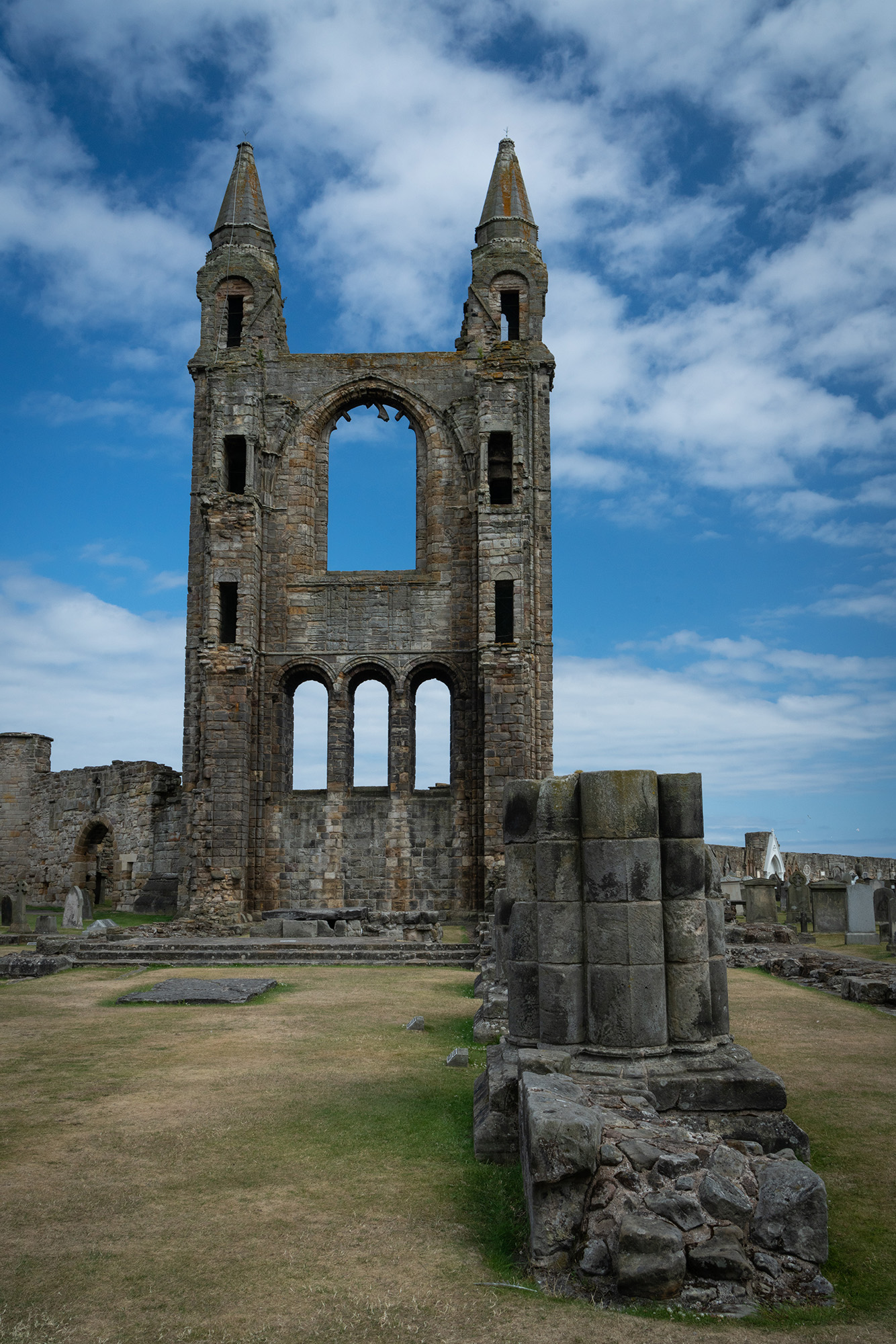 #cathedral, #scotland, #saintandrew, #saint, #standrews, #ruins, #story, #history