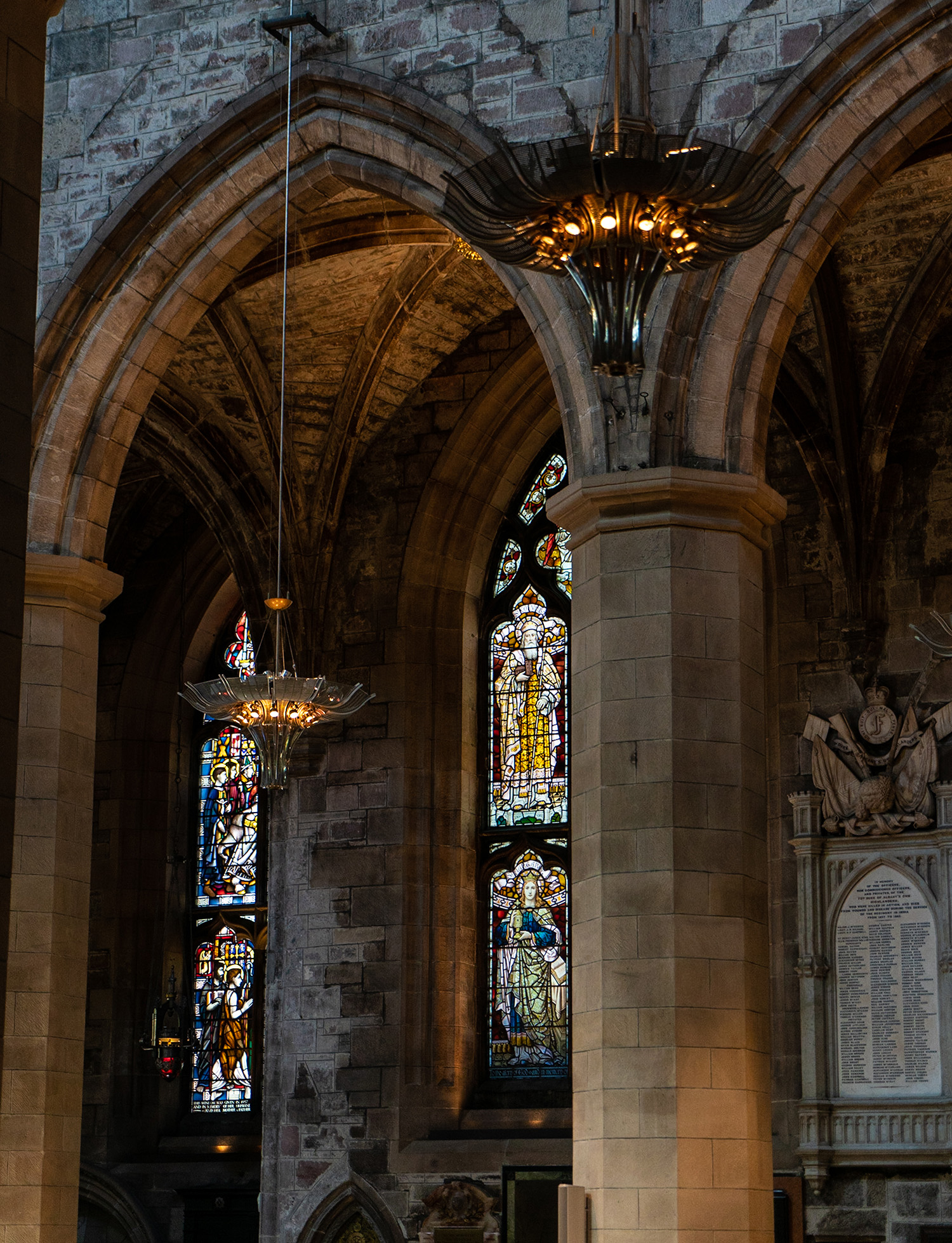 #architecture, #church, #cathedral, #scotland, #stainedglass, #presbyterian