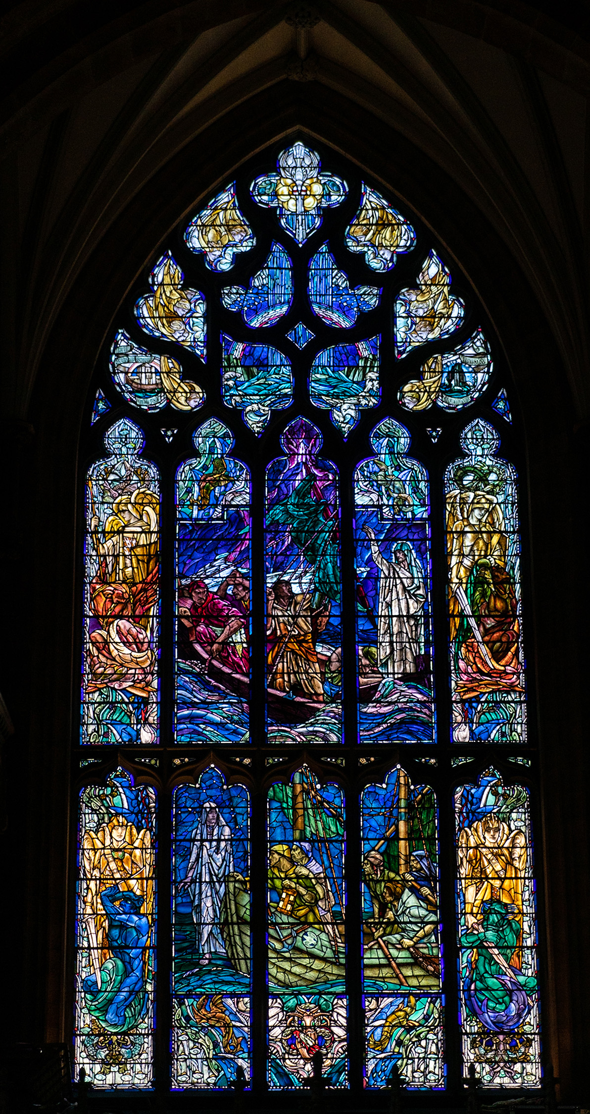 #stgiles, #edinburgh, #scotland, #church, #cathedral, #art, #stainedglass, #scripture, #window