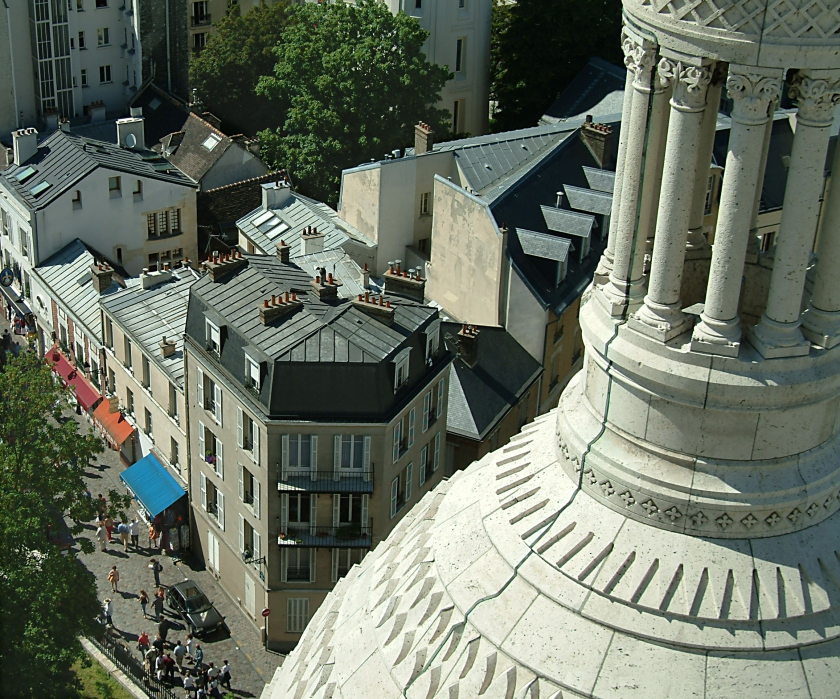 #sacrecoeur, #montmartre, #paris, #travel, #summer, #france