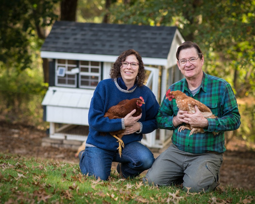 #environmentalportrait, #familyportrait, #portrait, #chickens, #hens, #freerange, #coop, #farm, #fall, #story