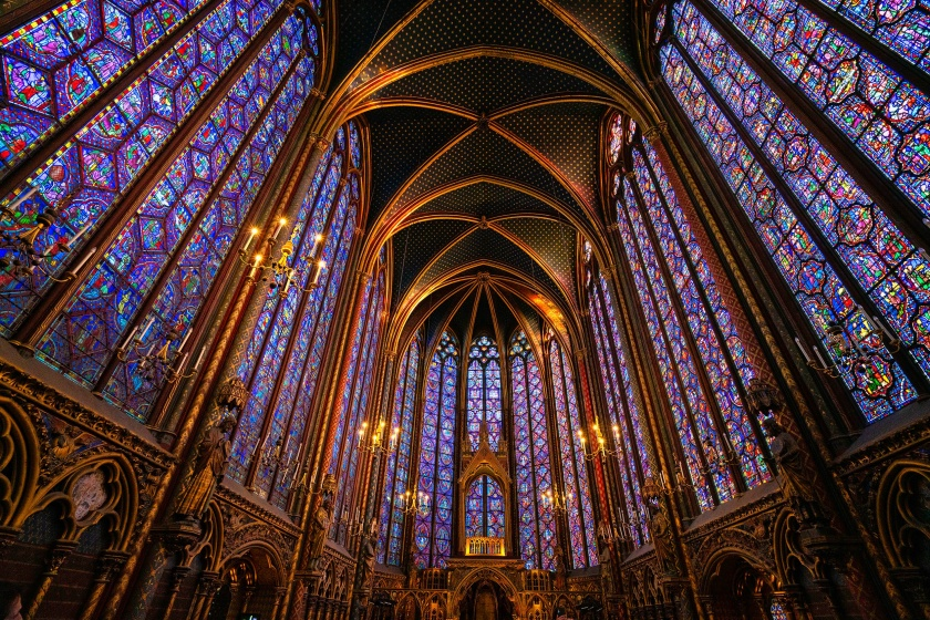 #stainedglass, #saintchapelle, #Paris, #thingstodo, #iconic, #architecture, #history, #Louisix, #13century, #chapel, #church, #art