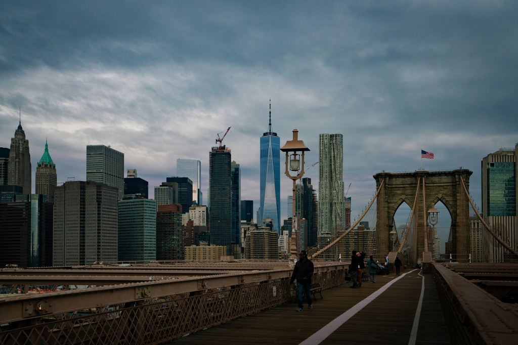 #brooklynbridge, #manhattan, #skyline, #lightroom, #iconic, #thingstodo, #nyc, #newyorkcity, #travel