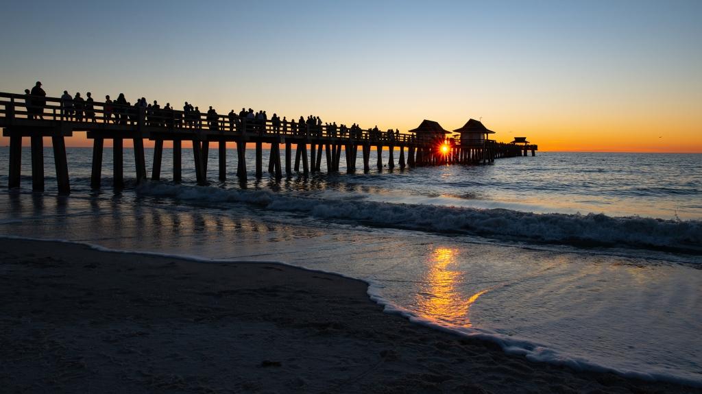 #pier, #naplespier, #naplesfl, #sunset, #sunstar, #gulfcoast, #blessing, #peace, #sun,