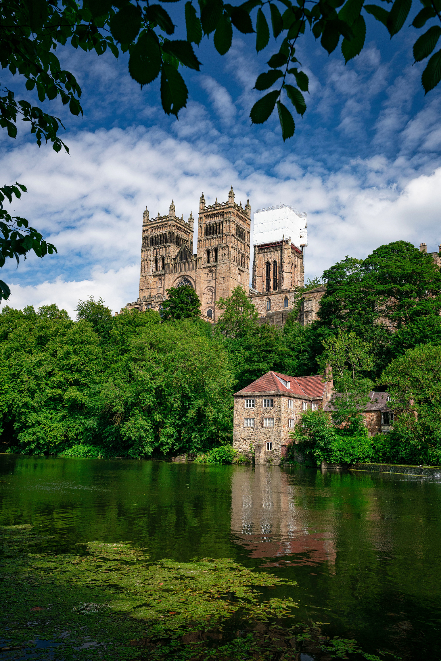#durham, #durhamuk, #durhamcathedral, #wearriver, #wear, #view, #riverbank, #riverwalk, #landscape, #architecture, #bluesky, #clouds, #england, #storybook, #afternoonlight, #nikon